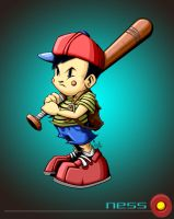 ness with bg by pnutink