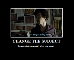 BBC Sherlock - Change Subject by FultNamn