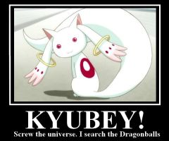 Kyubey by Zebrahummel