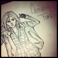 Cassidy Ford Supernatural Oc by MonteyRoo