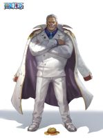 one piece garp by inshoo1