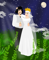 Queen Grimhilde And Humbert Wedding by RamiJ5