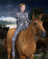 Jeanne D'Arc by LadyMiralys