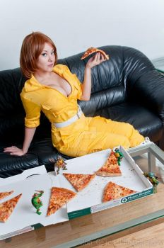 Pizza Time by Ani-Mia