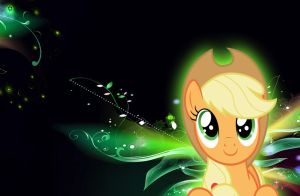 AppleJack  Wallpaper by RockCandy01