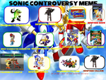 My Sonic Controversy Meme by Tinyhammer