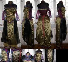 The demons dress by Quarval