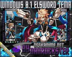 Chung Elsword Windows 8.1 Theme by Danrockster