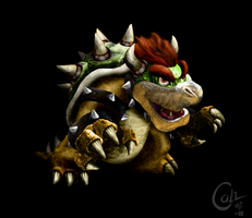 Bowser Untooned by Calvrp
