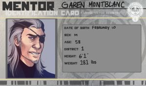 District 1 Mentor: Garen Montblanc by kaalashnikov