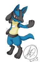 Lucario Brawl - Practice by ChibiKirbylover
