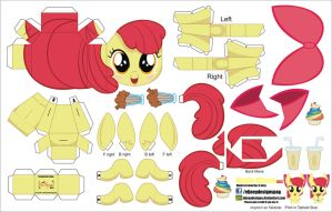 Apple Bloom 003 (Joinys 2.0) by ELJOEYDESIGNS