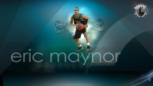 Eric Maynor Wall by Cuca24