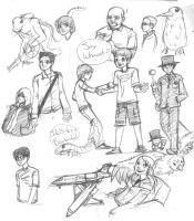 Terminal sketches by murader191