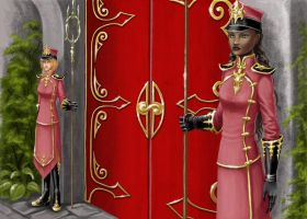 Guards of the Castle Gates by nolwen