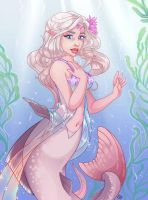 Mermaid Bride by Samantha Robinson by Merman1234
