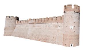 Castle Wall Precut by Stockopedia