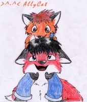 Fox Brothers by xAllyCat