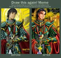 Meme: Before and After by Rusembell