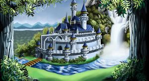 Fairy Tale Castle by racookie3