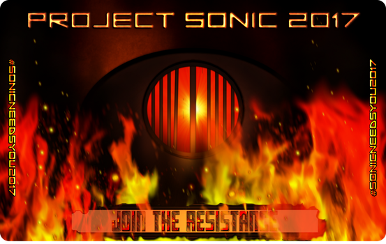 Project Sonic 2017 - Support Card by ZentrixStudios