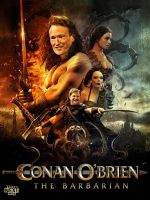 Conan O'Brien The Barbarian by oldredjalopy