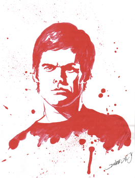 DEXTER MORGAN by Brandebuque