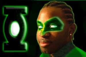Me the new green lantern? by kenshirevived92