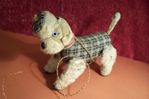 Toy dog vintage by paintresseye