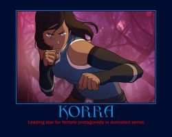 Korra Bounced BACK!! by worldends4me