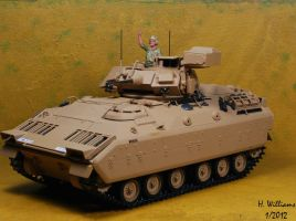 M2 Bradley Left Side by 12jack12
