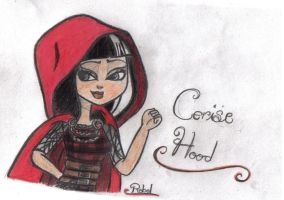 Cerise Hood by DreamFreeWings