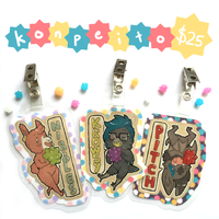 Konpeito Badges! by KrowsyKunst