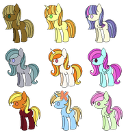 9 adopts OPEN by SomeLastAdoptables