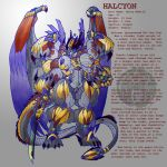 MoM: Halcyon Splash Sheet by psudodrake