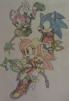 Sonic Hearts Birth by Sleep by Sonicguru - COLORED by A5L