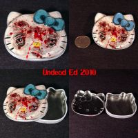 Hello Shot Kitty tin by Undead-Art