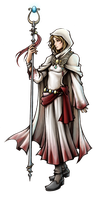 Dissidia: White Mage of Light by isaiahjordan