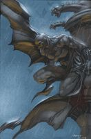Dark knight by moritat