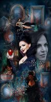 Evil Queen Damned If She Do by bxromance