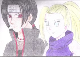 Itachi e Ino by Stephanie2912