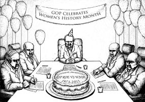 GOP Celebrates Women's History Month by SarahCascadden