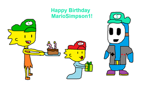 B-Day Gift to MarioSimpson1 by Toongirl18