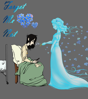 Forget Me Not Flat Color by Chrissyissypoo19