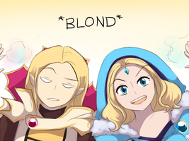 Two blonds by keterok