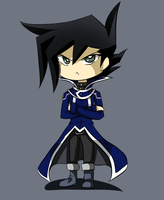 Chibi Blue Coat Manjoume by THEChazzPrince