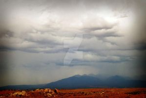 Stormy Mountains on way to ARc by houstonryan