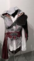 Assassins creed 2 ezio cape progress by ArtisansTheory