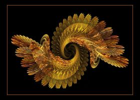 Feathers in Gold by Misty2007