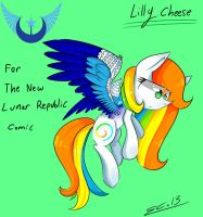 LillyCheese - For The New Lunar Republic Comic by scootaloocuteness